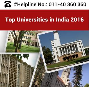 Top Universities in India 2016 - Public & Private