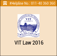 VIT Law 2016