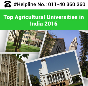 Top Agricultural Universities in India 2016
