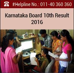 Karnataka Board 10th Result 2016
