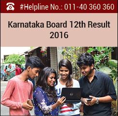 Karnataka Board 12th Result 2016