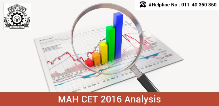 MAH CET 2016 Analysis - Moderate difficulty level test across slots