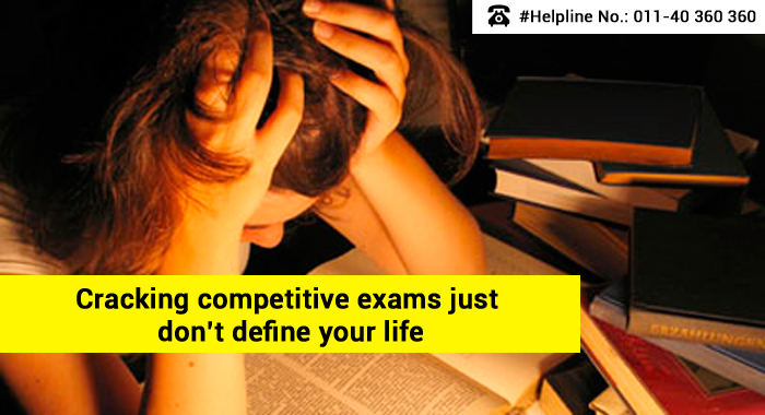 Cracking competitive exams just don't define your life