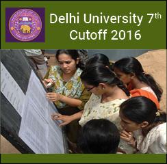 DU Seventh Cutoff 2016