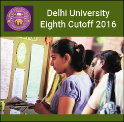 DU Eighth Cutoff 2016