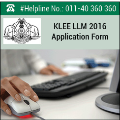 KLEE LLM 2016 Application Form