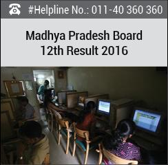 Madhya Pradesh Board 12th Result 2016
