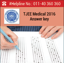 TJEE Medical 2016 Answer Key