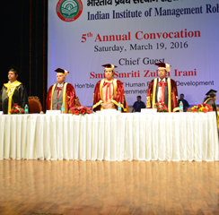 IIM Rohtak conducts PGDM convocation on March 19