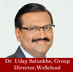 Innovative thinking and creativity are modern day keystones: Dr. Uday Salunkhe, Group Director, WeSchool