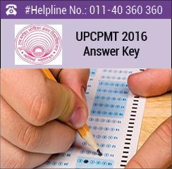 UPCPMT 2016 Answer Key