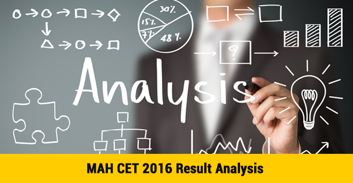 MAH CET 2016 Result Analysis - Quality dips as 95% of 69,319 test takers fail to cross half way score of 100 m