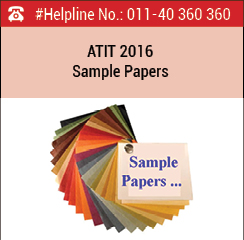 ATIT 2016 Sample Papers - Download here