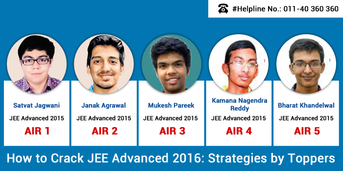 how to crack jee advanced in 1 year