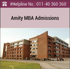 Amity University announces MBA admissions 2016
