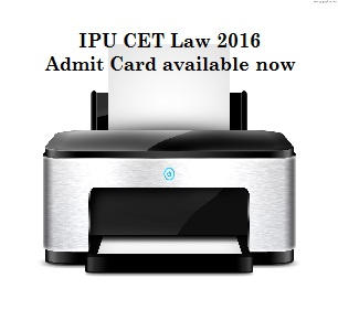 IPUCET Law 2016 Admit Card available; Download now