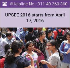 UPSEE 2016 begins on April 17