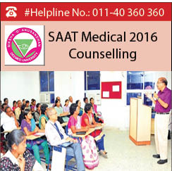 SAAT Medical 2016 Counselling