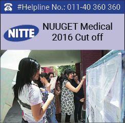 NUUGET Medical 2016 Cut off