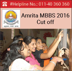 Amrita MBBS 2016 Cut off
