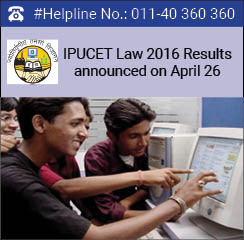 IPU CET Law 2016 Results announced on April 26