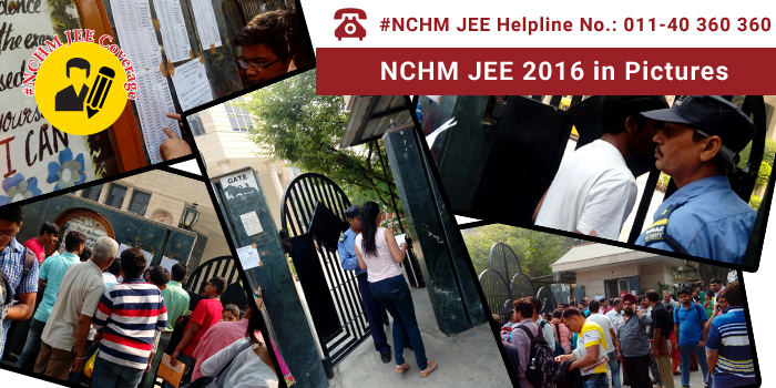 NCHM JEE 2016 in Pictures