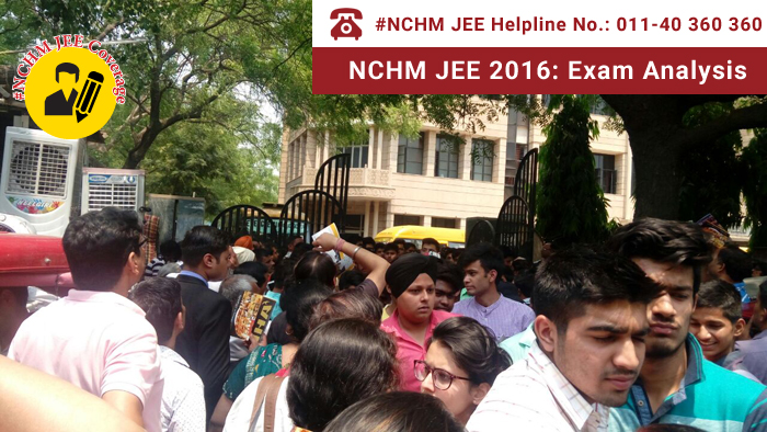 NCHM JEE 2016: Exam Analysis
