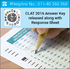 CLAT 2016 Answer Key released on May 12; file objections before May 15