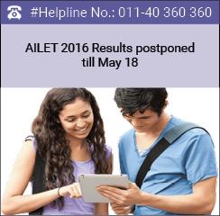 AILET 2016 Results postponed till May 18