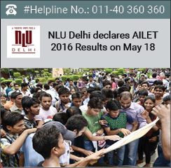 AILET 2016 Result announced on May 18; 73 candidates qualify for BA LLB admissions