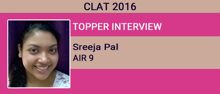 CLAT 2016 Topper Interview: Taking mock tests is imperative, says Sreeja Pal, AIR 9