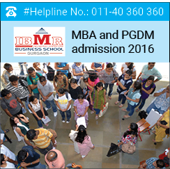 IBMR MBA and PGDM admissions 2016