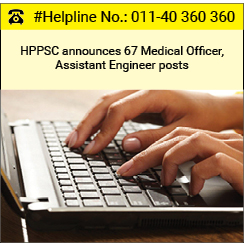 HPPSC announces 67 Medical Officer, Assistant Engineer posts