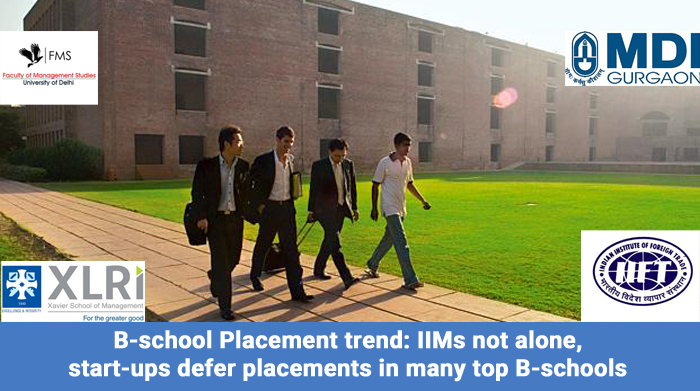 B-school Placement trend: IIMs not alone, start-ups defer placements in many top B-schools