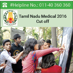 Tamil Nadu Medical 2016 Cut off