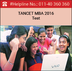 Anna University conducts TANCET MBA 2016 on June 11
