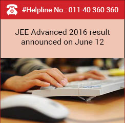 JEE Advanced 2016 result announced on June 12