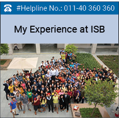 My experience at ISB campus: Rahine Bose, ISB, PGP 2017 batch