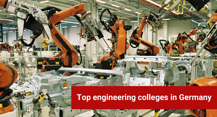 Top engineering colleges in Germany