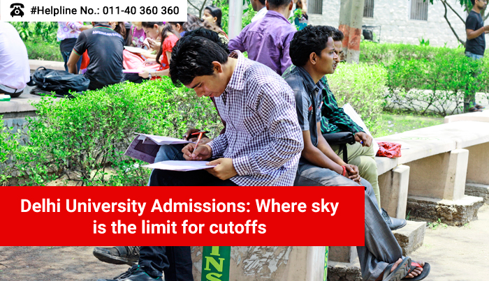 DU Admissions: Where sky is the limit for cut-offs