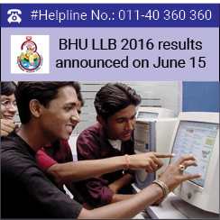 BHU LLB 2016 results announced on June 15