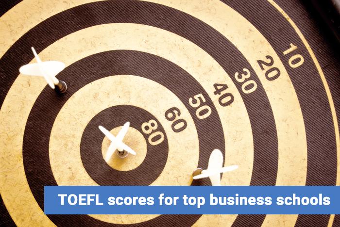 TOEFL scores for top business schools
