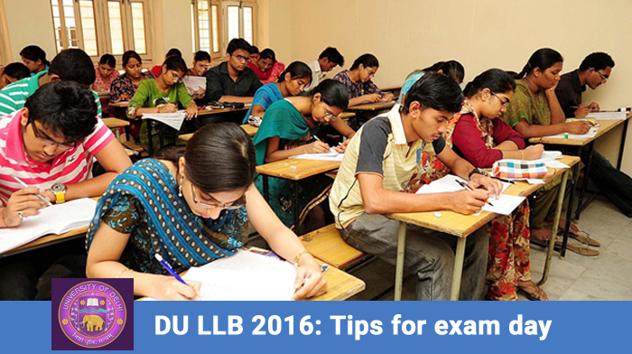 DU LLB 2016: tips for exam day