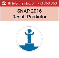 SNAP 2016 Result Predictor