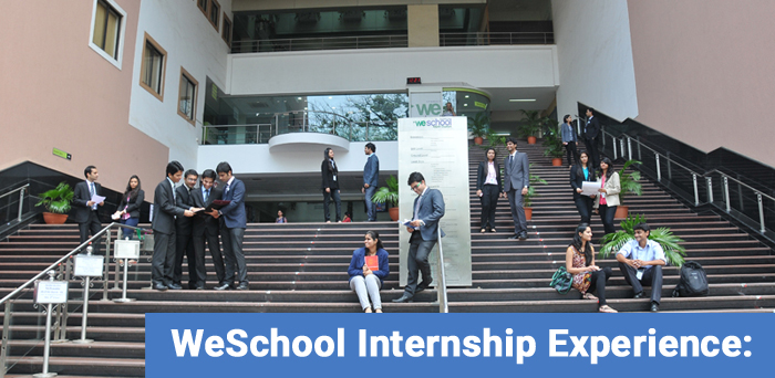 WeSchool Internship Experience: What students learnt from social initiative projects