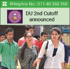 DU 2016 admission: 2nd Cut-off announced; no major dips in popular courses