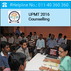 UPMT 2016 Counselling