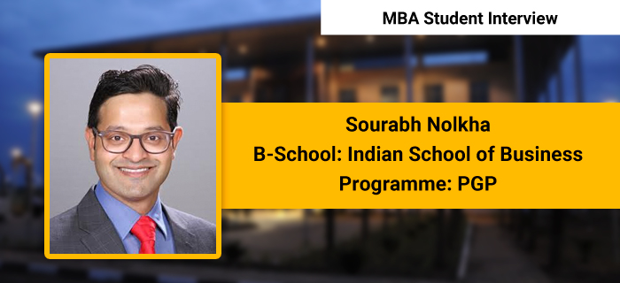 The programme fosters global learning through international exposure, Sourabh Nolkha, PGP, ISB