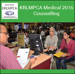 KRLMPCA Medical 2016 Counselling