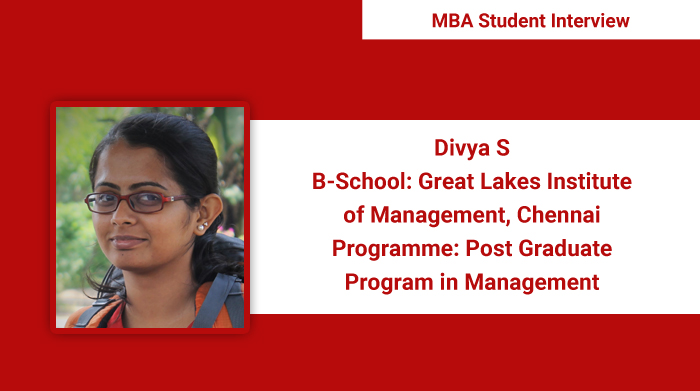Case study based pedagogy and industry experience of faculty and peers are main takeaways of the programme: Divya S, PGPM 2017 student, Great Lakes Institute of Management Chennai